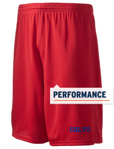 "Millbrook Elementary School Colts Holloway Men's Speed Shorts, 9"" Inseam"