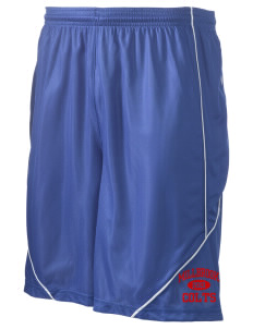 "Millbrook Elementary School Colts Men's Pocicharge Mesh Reversible Short, 9"" Inseam"