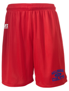 "Millbrook Elementary School Colts  Russell Men's Mesh Shorts, 7"" Inseam"