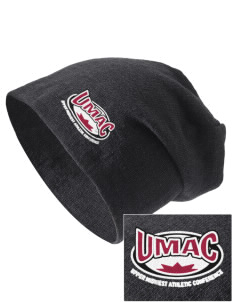 Upper Midwest Athletic Conference Athletics Embroidered Slouch Beanie