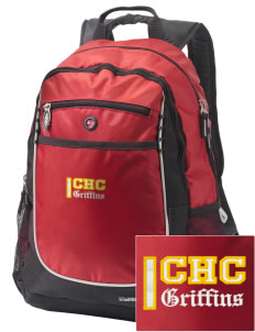 Chestnut Hill College Griffins Embroidered OGIO Carbon Backpack