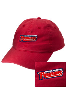New England College Pilgrims Embroidered Vintage Adjustable Cap