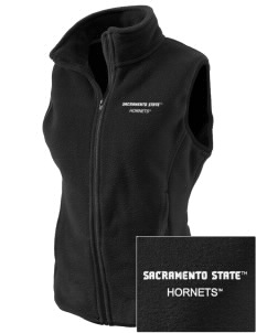 California State University Sacramento Hornets Embroidered Women's Fleece Vest
