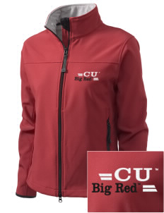 Cornell University Big Red Embroidered Women's Glacier Soft Shell Jacket