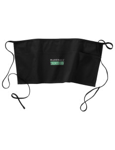 Marshall University Thundering Herd Waist Apron with Pockets