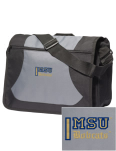Montana State University Bobcats Embroidered Midcity Messenger Bag