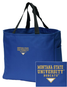Montana State University Bobcats Embroidered Essential Tote