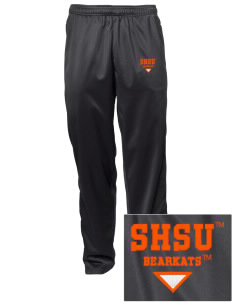 Sam Houston State University Bearkats Embroidered Men's Tricot Track Pants