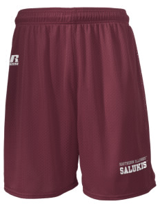 "Southern Illinois University Salukis  Russell Men's Mesh Shorts, 7"" Inseam"