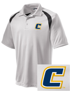 University of Tennessee at Chattanooga Mocs Embroidered Men's Dry Zone Colorblock Raglan Polo