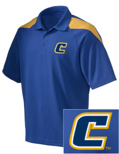 University of Tennessee at Chattanooga Mocs Embroidered Holloway Men's Frequency Performance Pique Polo