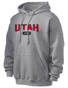 University of Utah Utes Ultra Blend 50/50 Hooded Sweatshirt