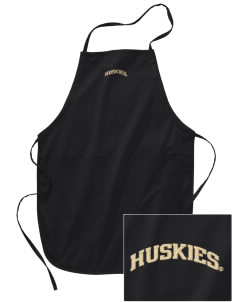 University of Washington Huskies Embroidered Full Length Apron
