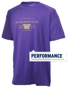 University of Washington Huskies Men's Ultimate Performance T-Shirt