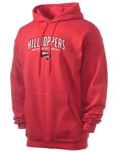 Western Kentucky University Hilltoppers Men's 7.8 oz Lightweight Hooded Sweatshirt