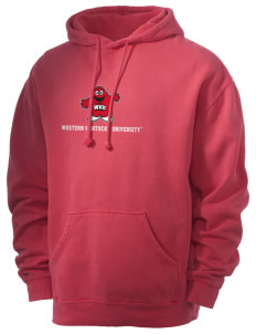 Western Kentucky University Hilltoppers Men's 80/20 Pigment Dyed Hooded Sweatshirt