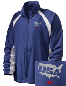 U.S. Air Force  Embroidered Men's Full Zip Warm Up Jacket