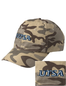 University of Texas at San Antonio Roadrunners Embroidered Camouflage Cotton Cap