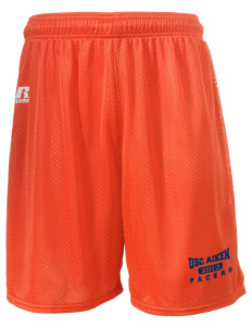 "University of South Carolina Aiken Pacers  Russell Men's Mesh Shorts, 7"" Inseam"
