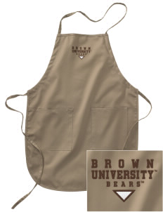 Brown University Bears Embroidered Full Length Apron