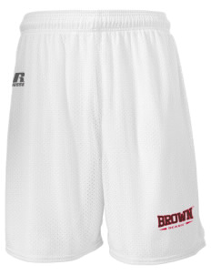 "Brown University Bears  Russell Men's Mesh Shorts, 7"" Inseam"