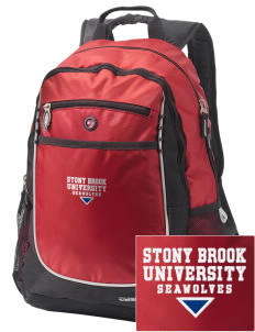 Stony Brook University Seawolves Embroidered OGIO Carbon Backpack