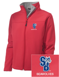 Stony Brook University Seawolves Embroidered Women's Soft Shell Jacket