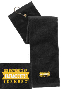 The University of Vermont Catamounts Embroidered Hand Towel with Grommet