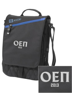 Omicron Epsilon Pi Embroidered OGIO Module Sleeve for Tablets