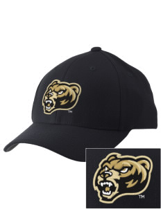 Oakland University Golden Grizzlies Embroidered Pro Model Fitted Cap