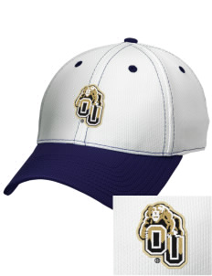 Oakland University Golden Grizzlies Embroidered New Era Snapback Performance Mesh Contrast Bill Cap