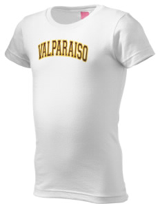 Valparaiso University Crusaders  Girl's Fine Jersey Longer Length T-Shirt