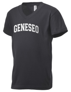 SUNY Geneseo Knights Kid's V-Neck Jersey T-Shirt