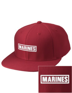 U.S. Marine Corps Embroidered Diamond Series Fitted Cap