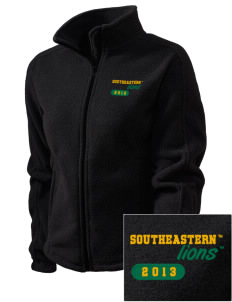 Southeastern Louisiana University Lions Embroidered Women's Fleece Full-Zip Jacket