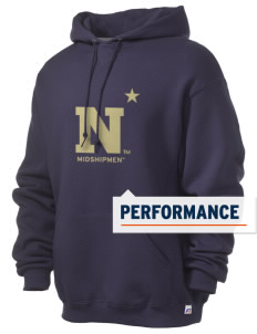 United States Naval Academy Midshipmen Russell Men's Dri-Power Hooded Sweatshirt