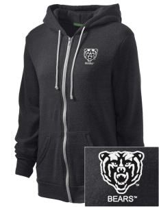 Mercer University Bears Embroidered Alternative Unisex The Rocky Eco-Fleece Hooded Sweatshirt