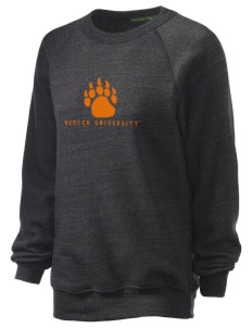 Mercer University Bears Unisex Alternative Eco-Fleece Raglan Sweatshirt