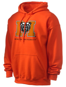 Mercer University Bears Ultra Blend 50/50 Hooded Sweatshirt