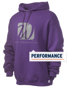 University of Wisconsin-Whitewater Warhawks Russell Men's Dri-Power Hooded Sweatshirt