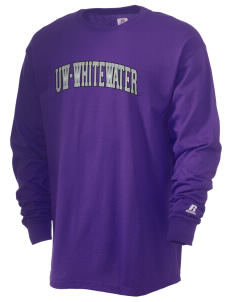 University of Wisconsin-Whitewater Warhawks  Russell Men's Long Sleeve T-Shirt