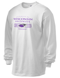 University of Wisconsin-Whitewater Warhawks 6.1 oz Ultra Cotton Long-Sleeve T-Shirt