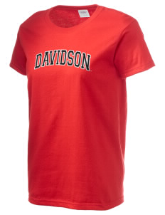 Davidson College Wildcats Women's 6.1 oz Ultra Cotton T-Shirt