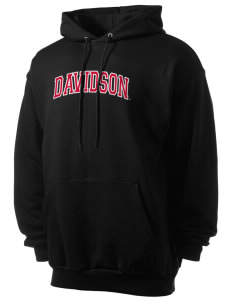 Davidson College Wildcats Men's 7.8 oz Lightweight Hooded Sweatshirt