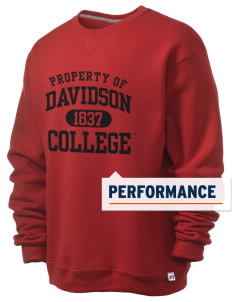 Davidson College Wildcats  Russell Men's Dri-Power Crewneck Sweatshirt