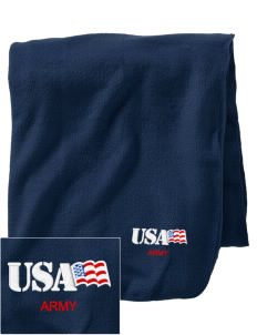 Alaska Army National Guard Embroidered Holloway Stadium Fleece Blanket