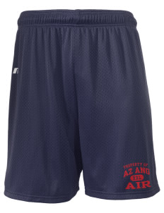 "Arizona Air National Guard  Russell Men's Mesh Shorts, 7"" Inseam"