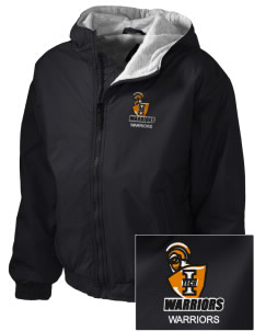 Indiana Tech Warriors Embroidered Holloway Kid's Triumph Hooded Jacket