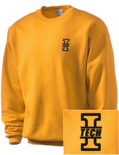 Indiana Tech Warriors Embroidered Men's Crewneck Sweatshirt
