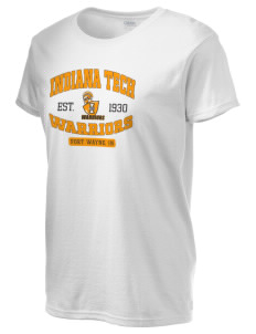 Indiana Tech Warriors Women's 6.1 oz Ultra Cotton T-Shirt